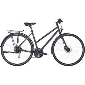 vsf fahrradmanufaktur T-100 toerfiets Trapeze Alivio 27-speed disc zwart